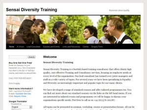 Sensai Diversity Training