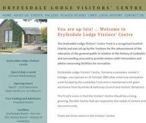 Dryfesdale Lodge Visitors' Centre